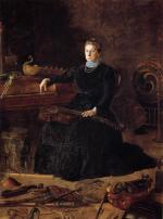 Thomas Eakins - paintings - Portait of Sarah Sagehorn Frishmuth