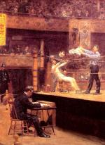 Thomas Eakins - paintings - Between Rounds