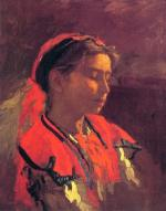 Thomas Eakins - paintings - Carmelita Requena