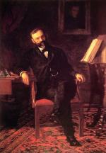 Thomas Eakins - paintings - Portait of Dr  John H  Brighton