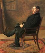 Thomas Eakins - paintings - Frank Jay St  John