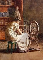 Thomas Eakins - paintings - Homespun