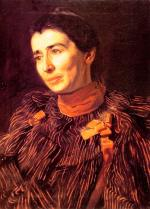 Thomas Eakins - paintings - Mary Adeline Williams (Addie)