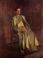 Thomas Eakins - paintings - Monsignor Diomede Falconia