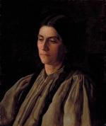 Thomas Eakins - Bilder Gemälde - Mutter Annie Williams Gandy