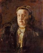 Thomas Eakins - paintings - Mrs. Gilbert Perker