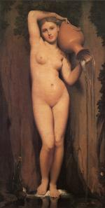 Jean Auguste Dominique Ingres - Peintures - La Source