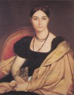 Jean Auguste Dominique Ingres - paintings - Madame Duvaucey