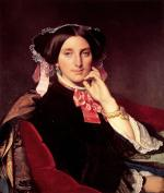 Jean Auguste Dominique Ingres - paintings - Madame Henri Gonse
