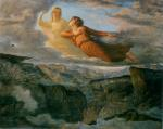 Anne François Louis Janmot - paintings - The Poem of the Soul (The Ideal)