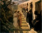 Anne François Louis Janmot - paintings - The Poem of the Soul (The Wrong Path)
