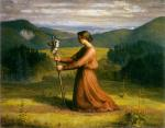 Anne François Louis Janmot - paintings - The Poem of the Soul (Reality)