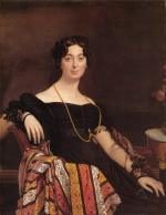 Jean Auguste Dominique Ingres - Peintures - Madame Jacques Louis Leblanc