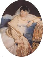 Jean Auguste Dominique Ingres - paintings - Madame Philibert Riviere