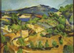 Paul Cezanne - paintings - Berge in der franzoesischen Provence