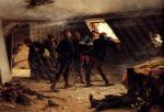 Alphonse de Neuville - paintings - Episode from the Franco Prussian War