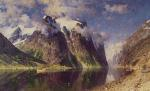 Adelsteen Normann - paintings - The Fjord
