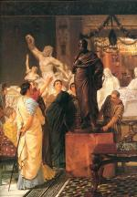 Sir Lawrence Alma Tadema - Bilder Gemälde - a sculpture gallery
