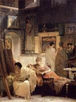 Sir Lawrence Alma Tadema - paintings - A Picture Gallery