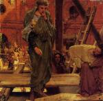 Sir Lawrence Alma Tadema - paintings - Architecture in Ancient Rome