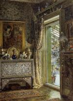 Sir Lawrence Alma Tadema - Bilder Gemälde - Drawing Room, Holland Park