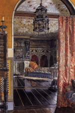 Sir Lawrence Alma Tadema  - Bilder Gemälde - the drawing room at townshend house