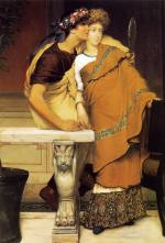 Sir Lawrence Alma Tadema  - Bilder Gemälde - The Honeymoon