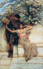 Sir Lawrence Alma Tadema  - Bilder Gemälde - promise of the spring