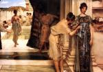 Sir Lawrence Alma Tadema  - Bilder Gemälde - The frigidarium