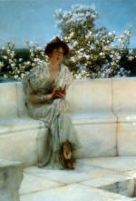 Sir Lawrence Alma Tadema  - Bilder Gemälde - the years of the spring