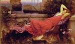 John William Waterhouse - Bilder Gemälde - Ariadne
