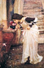 John William Waterhouse - Bilder Gemälde - Am Schrein
