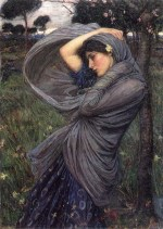 John William Waterhouse - Bilder Gemälde - Boreas