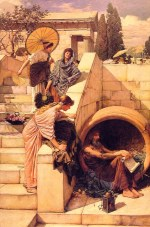 John William Waterhouse - Bilder Gemälde - Diogenes