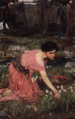 John William Waterhouse - Bilder Gemälde - Flora