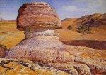 William Holman Hunt - Bilder Gemälde - the sphinx gizeh