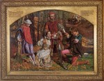 William Holman Hunt - Bilder Gemälde - Valentine rescuing Sylvia from Proteus