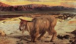 William Holman Hunt - Bilder Gemälde - the scapegoat