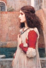 John William Waterhouse - Bilder Gemälde - Juliet