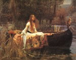 John William Waterhouse - Bilder Gemälde - Lady of Shalott