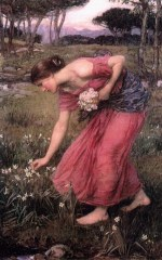 John William Waterhouse - Bilder Gemälde - Narzissen