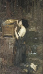 John William Waterhouse - Bilder Gemälde - Pandora