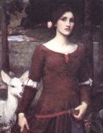 John William Waterhouse  - Bilder Gemälde - Lady Clare