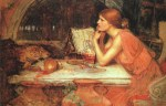John William Waterhouse  - Bilder Gemälde - Die Zauberin