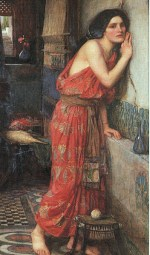 John William Waterhouse  - Bilder Gemälde - Thisbe