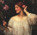 John William Waterhouse  - Bilder Gemälde - Eitelkeit