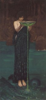 John William Waterhouse  - Bilder Gemälde - Circe Invidosa