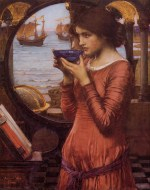 John William Waterhouse  - Bilder Gemälde - Schicksal