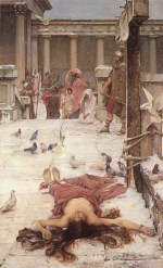 John William Waterhouse  - Bilder Gemälde - St. Eulalia