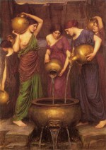 John William Waterhouse  - Bilder Gemälde - The Danaides